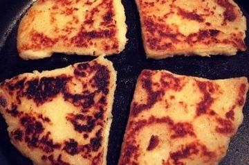 Iers aardappel brood met zeewier